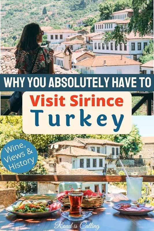 Would you like to visit a super unique, relaxing and historic village on the Aegean coast of Turkey? Then read my guide to why to visit Sirince village near Kusadasi and Izmir! #bestofturkey #aegeancoastofturkey #turkeytravel