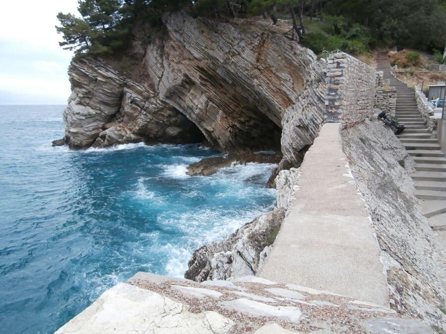wild beaches in Montenegro