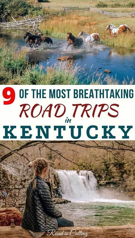 9 Totally mind-blowing weekend road trips in Kentucky! Unplug, distract and relax on one of these getaways! #roadtripping #bucketlistusa #bestofusa #bucketlistamerica