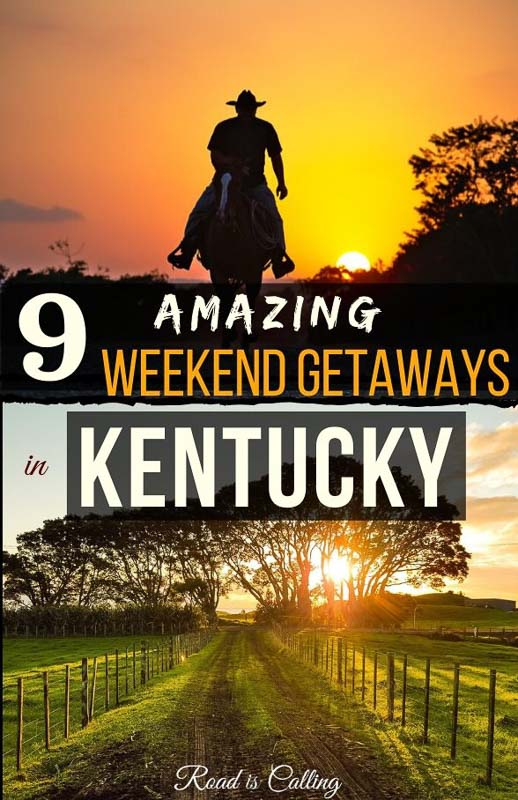 Have you ever thought about visiting Kentucky on your travels? If not, get inspired after reading this post! There are lots of options for day trips and weekend getaways in Kentucky that include a visit to fantastic horse farms and distilleries, the cutest antique towns with charming Inns and historical sites, small family-owned wineries and quaint restaurants, and much, much more! #bestofusa #americatravel #usaroadtrips #usagetaways