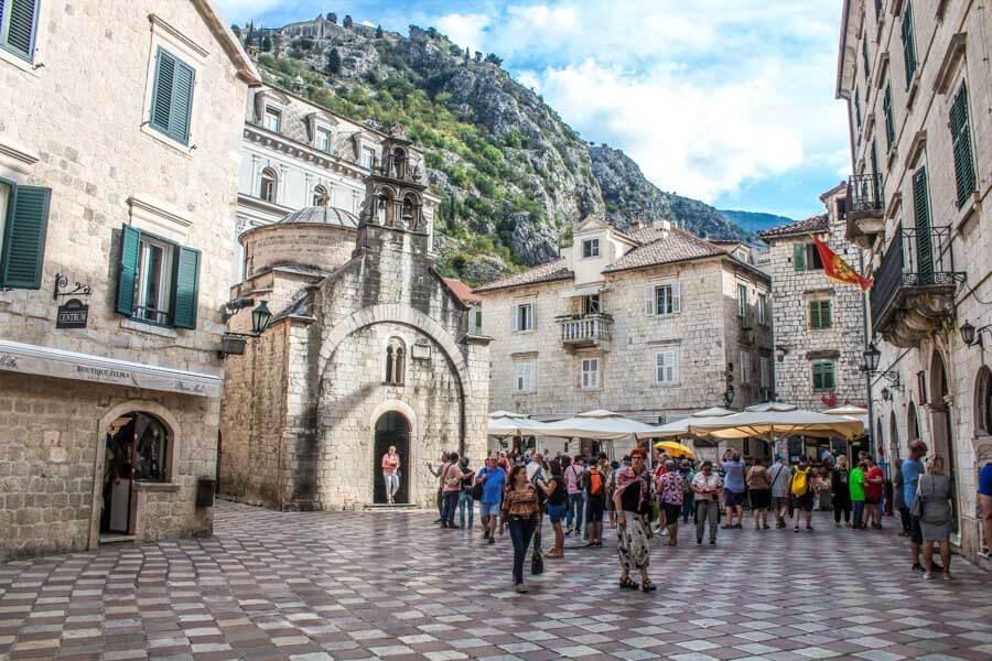 walking tour in Kotor