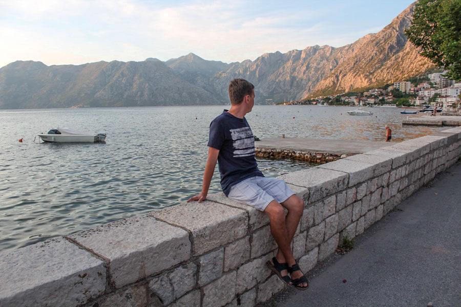 walk in Kotor Dobrota