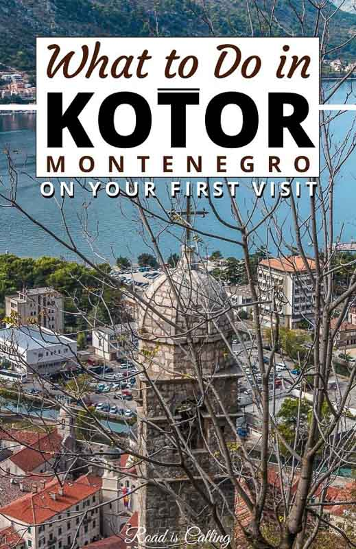 My list of things to do in Kotor, Montenegro will help you make the most of your trip on the first or twenty-first visit. Find out where to go and what to do in this historical charming city! #Kotor #Montenegrotravel #bestofmontenegro