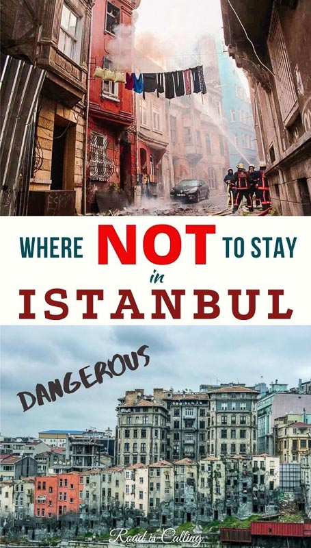 Traveling to Istanbul any time soon? Even if you don't, see my post about the dangerous parts of Istanbul where not to stay or even visit. They are seriously dangerous! #istanbultravel #traveltipsforistanbul #wheretostayinistanbul