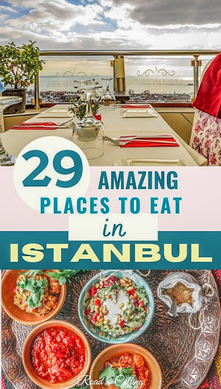 Guide to what and where to eat in Istanbul
