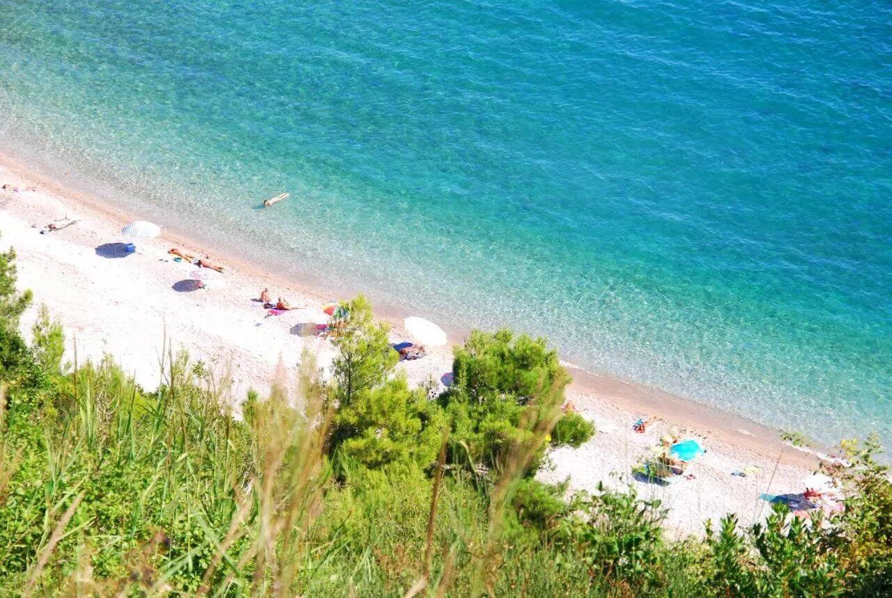 sandy beaches in Budva