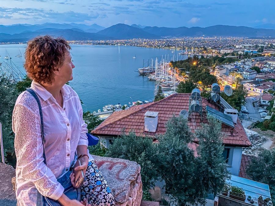 Fethiye city in Turkey