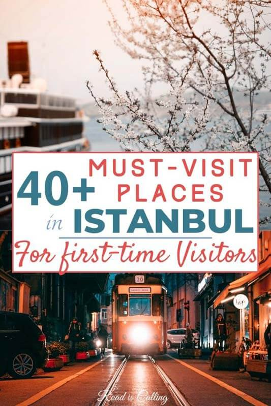 Discover Istanbul through my guide! With more than 40 amazing places to visit in Istanbul, you'll know what to do on a 2 days or 2 weeks trip! Come to visit! | Istanbul Turkey | Istanbul on a budget | #bestofistanbul #turkeytravel #istanbulturkey