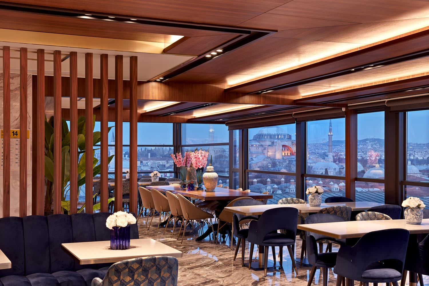best restaurants in Istanbul with a view