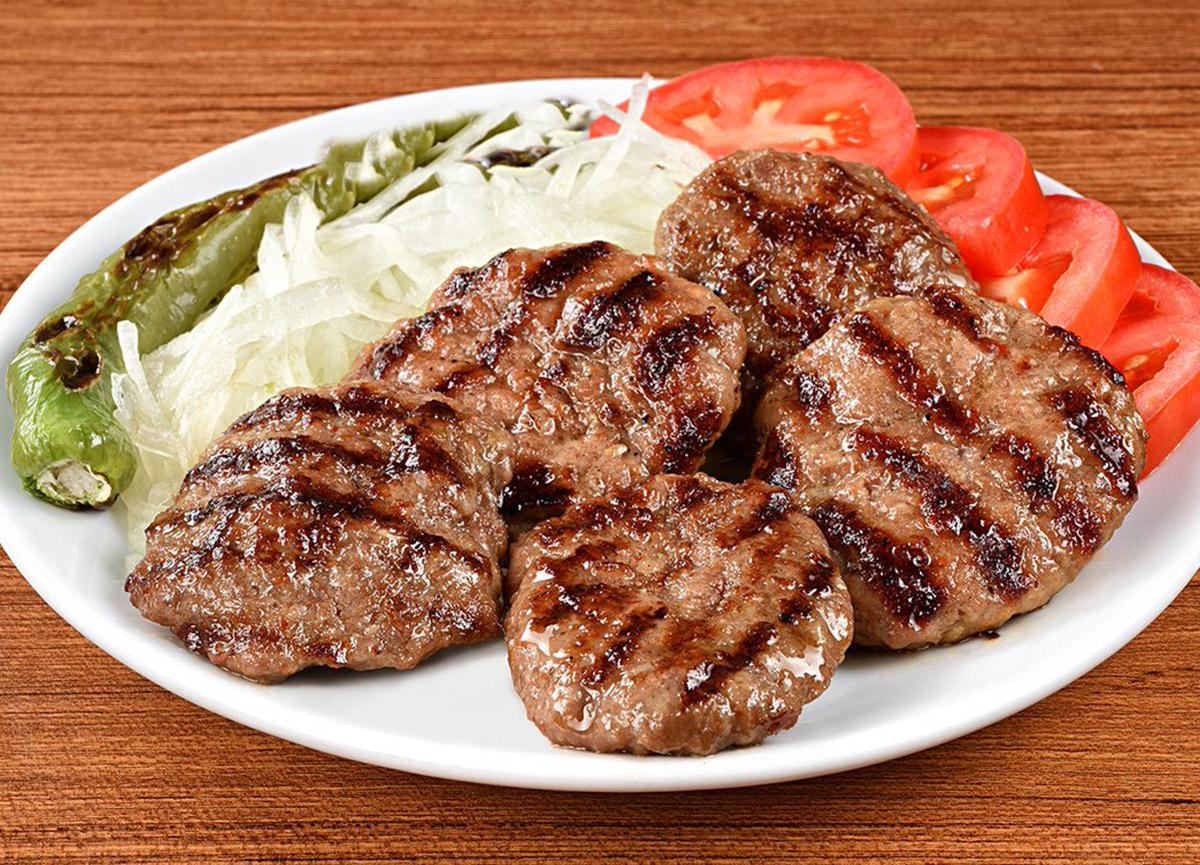 Turkish traditional food kofte