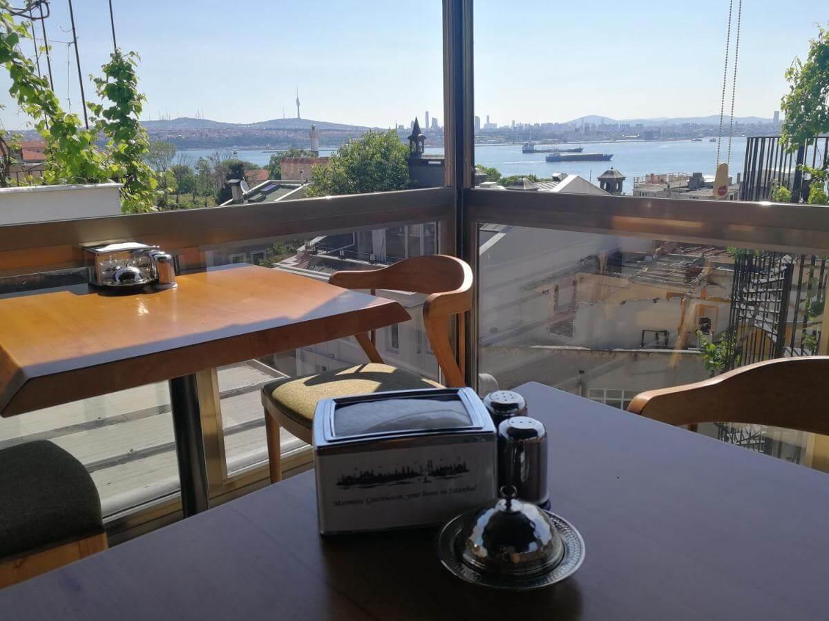 Marmara guesthouse terrace